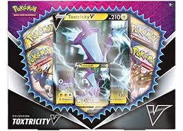 2020 Pokemon TCG Toxtricity V Box - 2020