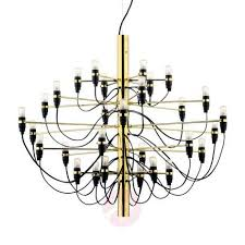 flos chandelier 2097 brass colour