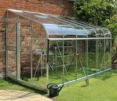 12x6 silverline lean to wall greenhouse