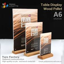 Wooden Menu Display Stands Gorgeous China A32 Wooden Menu Display Stands Manufacturers And Suppliers