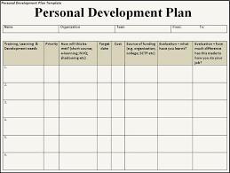 Personal Development Plan Personal Development Plan