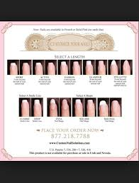 Nail Length Guide Very Helpful In 2019 Diy Wedding Nails