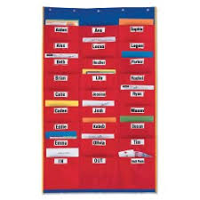 Extra Wide Pocket Chart Classroom Essentials Pocket Charts Stands