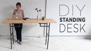 full size desk simple stand. Stand Up Desk Plans With Photos Full Size Simple