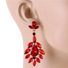 whole crystal chandelier earring 167325rd