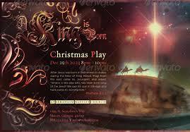 Christmas Program Templates Wonderful Church Christmas Flyer Templates