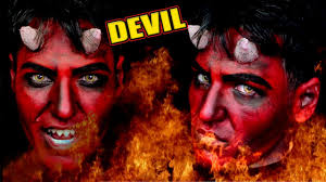 devil makeup mens makeup for