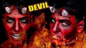 devil makeup mens makeup for