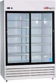 futura plus series 45 cubic foot sliding glass door refrigerator item labl 45 sg 5 834 00