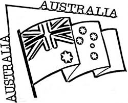 Preschool Australian Flag Coloring Page | Flags Coloring pages of ...