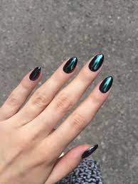Solid Color Acrylic Nail Designs Pin By Queenztipz On Nails Chrome Nails Nail Colors Dark