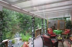 clear or translucent patio covers and sunroom glazing polycarbonate vs acrylic clear patio covers u69