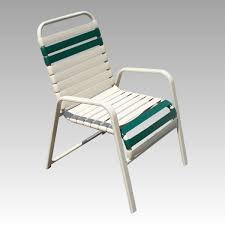 strap patio chair