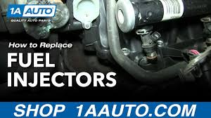 how to replace fuel injectors 01 06 chevy suburban 1a auto an error occurred