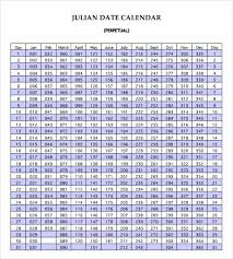 Julian Calendar 8 Download Documents In Pdf Psd