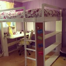 Playhouse Loft Bed With Stairs Bedroom Kids Furniture Sets Cool