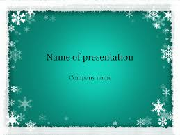 Winter Powerpoint Download Free Winter Powerpoint Template For Presentation