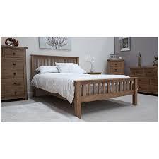 Solid Maple Bedroom Furniture Tilson Solid Rustic Oak Bedroom Furniture 5039 King Size Bed Ebay