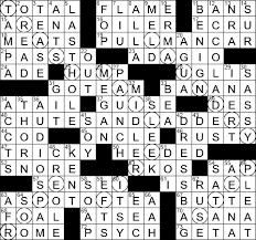La Times Crossword 12 Sep 19 Thursday Laxcrossword Com
