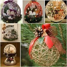 Diy String Ball Decorations New Wonderful DIY Yarn Ball Ornaments For Christmas