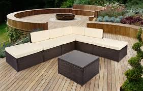 corner furniture piece. on sale 7 piece palm beach modular rattan corner sofa set in brown furniture