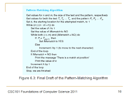 Pattern Matching In Java