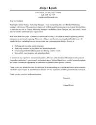 Cover Letter For Product Manager Position Best Product Marketer Cover Letter Examples Livecareer
