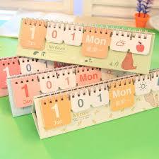 free brief small perpetual desk calendar 2016 multicolor mini desk calendar desktop calendar calendrical
