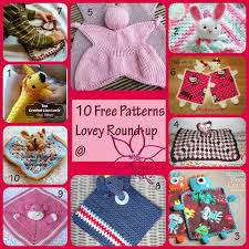 Free Crochet Lovey Pattern Stunning MNE Crafts Lovey RoundUp 48 Free Lovey Patterns