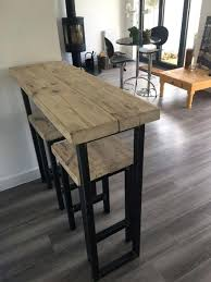 reclaimed wood breakfast bar and two stools reclaimedbespoke reclaimed wood bar stools uk kitchen nightmares campania
