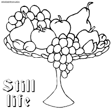 coloring pages to and print book color drawing still life