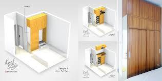 membuat wardrobe custom tinggi 3m dengan multiplek dan hpl