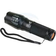 Đèn pin siêu sáng bóng led, kèm pin, XML-T6 police pin mini cầm tay chống  nước tự vệ chuyên dụng giá cạnh tranh