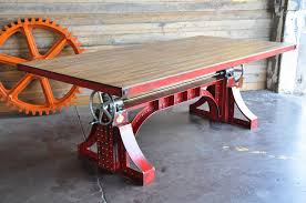 vintage industrial furniture tables design. Bronx Crank Table. Top VintageVintage DecorIndustrial Vintage Industrial Furniture Tables Design