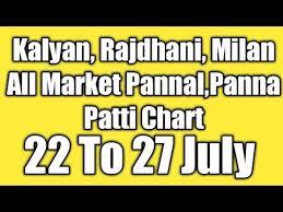 Videos Matching Kalyan Milan Rajdhani Day Night Weekly
