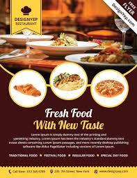 Restaurant Catering Deal Flyer Template Aecfbdfaacffdbcb Screen Epic