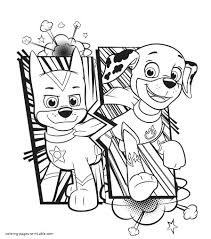 We do love coloring pages here at easy peasy and fun and we have hundreds of them to share with you, so go and grab your crayons or coloring pens. Printable Easy Paw Patrol Coloring Pages Novocom Top