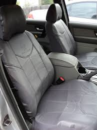 quality leather look sold in grey or black