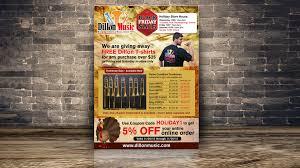 The Flyer Ads Kim Moro Dillion Music Flyer Ad