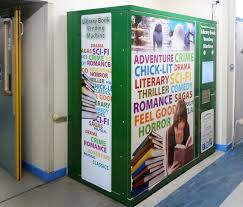 Book Vending Machine Library Simple Book Vending Kiosk LendIT™ Murphy Security Solutions