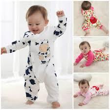 New Cute Newborn Girl Boy Clothes Baby Clothes Infant Girls Boys