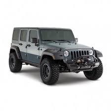 bushwacker factory coverage 9 5 width rear pocket style fender flares jeep wrangler jku 4