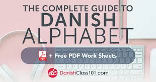 In my kanji to romaji translator i added an option that allows you to translate japanese text to international phonetic alphabet (ipa). Learn The Danish Alphabet With The Free Ebook Danishclass101