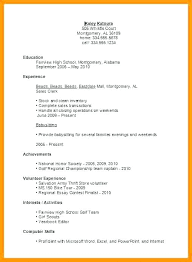Resume Student Template Simple Resume Sample First Job Dewdrops