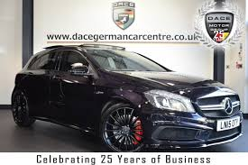I'm sure most of the time at night it will look black but when the street lights hit it the right way you get a flash of. Used 2015 Purple Mercedes Benz A Class Hatchback 2 0 A45 Amg 4matic 5dr Auto 360 Bhp Full Service History For Sale In Bolton Used Car Supermarket