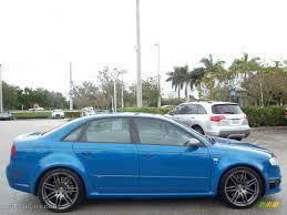 Sprint Blue Pearl Effect 2008 Audi RS4 4.2 quattro Sedan Exterior ...