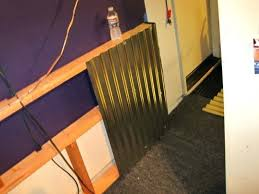 kids room ikea wallpaper idea how to adding a corrugated metal wainscoting type wall office drop