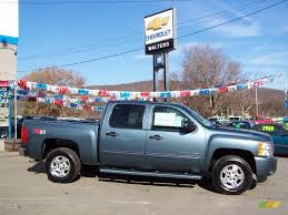 2009 Blue Granite Metallic Chevrolet Silverado 1500 LT Z71 Crew ...