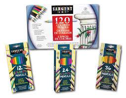 Sargent Art 22 7209 12 Count Construction Paper Pencils In Assorted