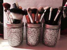 mason jar makeup brush holder. mason jar makeup brush holder youtube